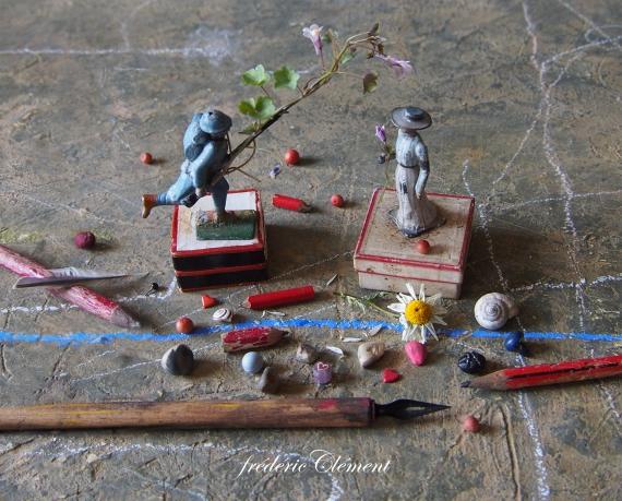 cachotterie, noir, 1914, 14-18, botanique, galerie, minuscule, atelier, curiosité, rose, paris, verdun,