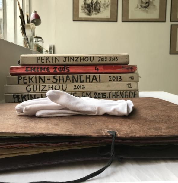 papier, voyage, papillon, bijou, fredericclement, lacachotterie, galerie, beauté , vanité,